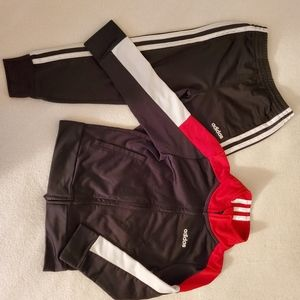 Boys Adidas Track Warm-up Jogging Suit 4T